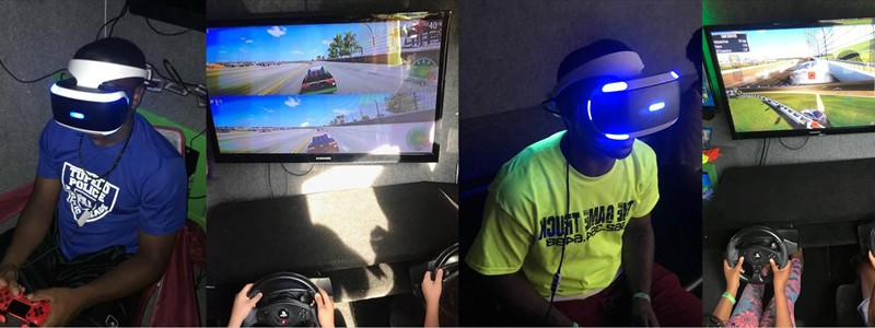Our virtual reality gaming and racing simulators are awesome!